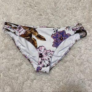 New! O'Neill Floral Swim Bikini Bottoms